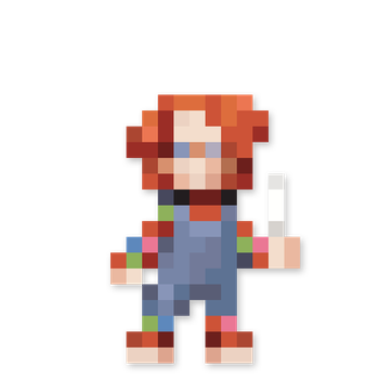 Day #208 - Charles Lee Ray (Chucky) by JINNdev