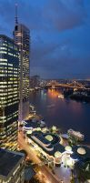 Brisbane Vertical Panorama by robertvine