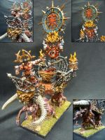 Chaos Warshrine of Khorne by Solav