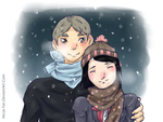 +HQ OC+In the snow by Nicas-Tan