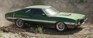 1972 Gran Torino by Beowulf-BX