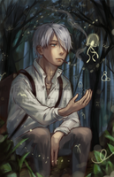 Mushishi by Pew-PewStudio