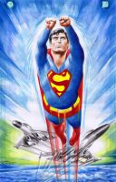 SUPERMAN: Christopher Reeve by Ianrialdi