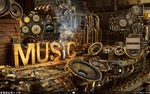 Steampunk Rainmeter by xR4nD0mx3m0x