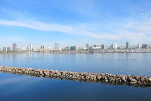 LA - Queen Mary Long beach view by elodie50a