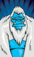 48 Monsters - Yeti by Heartattackjack