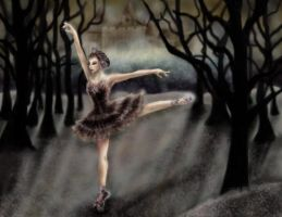 The Black Swan: Odile by wishluv