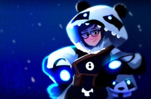 Mei Polar Panda Custom Skin | Overwatch by Spencer-Bowen