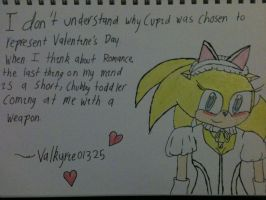 A special Valentine's message from Han Hedgehog by Valkyrie01325