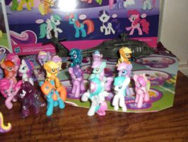 My pony figure collection 2 (some other ponies) by ShitAllOverHumanity