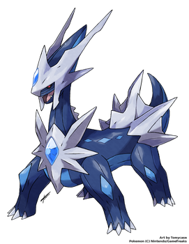 Different Dialga by Tomycase