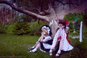 The Touhou Project by HibariRin