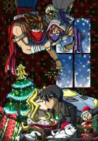 Christmas Kisses 2013 by punkbot08