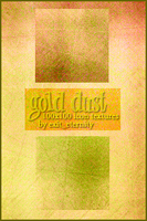 Gold Dust Textures by SirenSebastianne