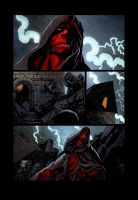 Fegredo Hellboy colors by SpicerColor