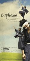 Euphoria exhibition invitation by endoers