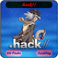 .hack// - Sign - Anime Icon by Mizar86