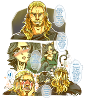 + Thor hugs Loki + by BoGilliam