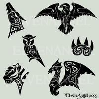 TVC: Tribal Tatoos by ElvenAngel