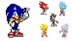 Sonic's Transformation by KingAsylus91