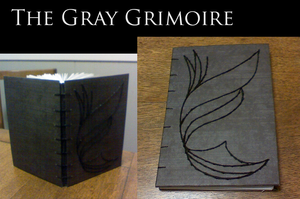 The Gray Grimoire by LightAesthetic