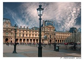 Louvre carroussel by bracketting94