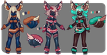 Anthro Duveteux Batch (CLOSED) by Belzoot