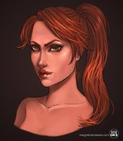 Legend Lara speedpaint by LexiGold