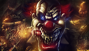 The Evil Clown by w1nd1n6s