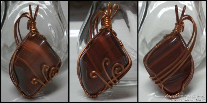 Red Tiger Eye 100 by Zorias