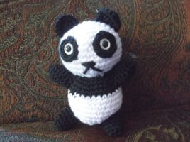 Panda amigurumi by ShadowOrder7