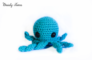 Blue Octopus by candypow