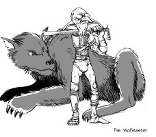 Wolfmaster by warriorneedsfood