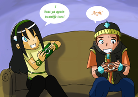 Taang with Games by FangirlLynHibiki