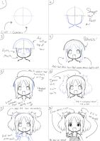 How to Sketch a Loliloli Loli by LolicOnion