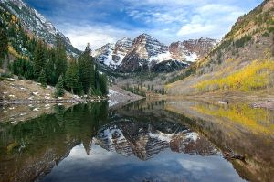 Maroon Bells by LarryGorlin