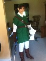 Link Cosplay: FINISHED by VIIIFireLordAxel