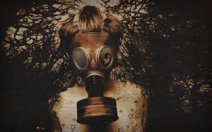 Behind The Gas Mask by DigiQ8