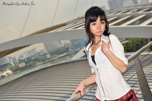 fashion shoot @ MBS (outfit 1) 05 by tiffanYuhan