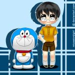 Commish - Dora n nobita by Miusaionjigirl