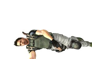 Chris Redfield Defeated 2 by Stylistic86