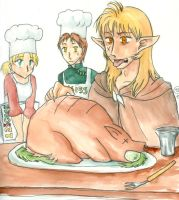 Happy Thanksgiving '06 by imabubble