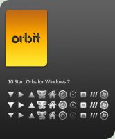 Orbit : Start Orbs for Win7 by HeskinRadiophonic