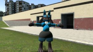 suit lucario in gmod by toamac