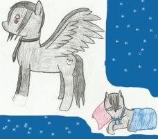 MLP-Sebastian and Ciel by Cool-Ally