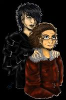 Jenocta Charhart and Jester Holle by Ravers-Disease