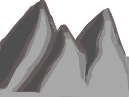 Kind of a mountain? by Lash2230