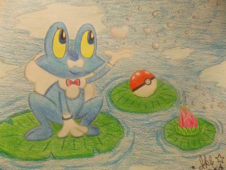 .:Foam the Froakie:. by SonicPokemonPrincess
