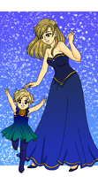 Uranus - Queen and Princess by Sailor-Serenity