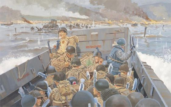 D-day 73 years later. by BritishKnight1788